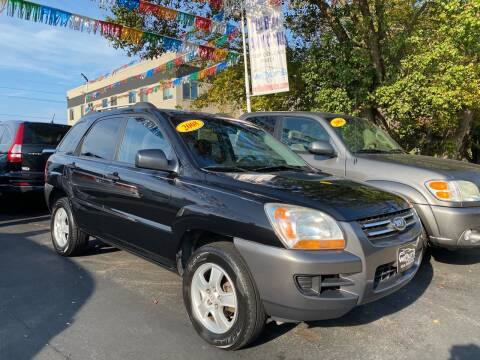 2008 Kia Sportage for sale at WOLF'S ELITE AUTOS in Wilmington DE