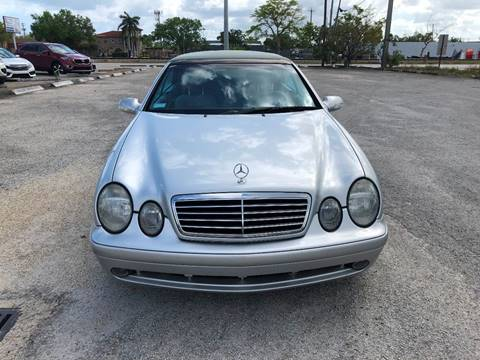 2002 Mercedes-Benz CLK for sale at UNITED AUTO BROKERS in Hollywood FL
