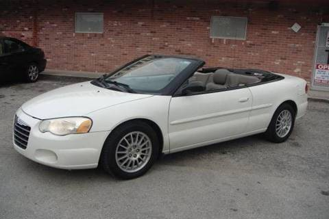 2006 Chrysler Sebring for sale at UNITED AUTO BROKERS in Hollywood FL