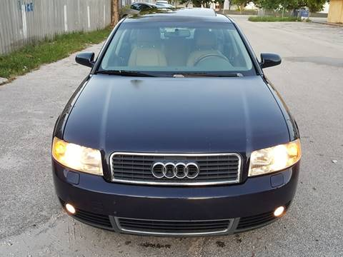 2002 Audi A4 for sale at UNITED AUTO BROKERS in Hollywood FL