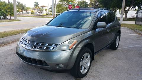 2005 Nissan Murano for sale at UNITED AUTO BROKERS in Hollywood FL