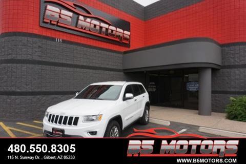 2015 Jeep Grand Cherokee for sale in Gilbert, AZ