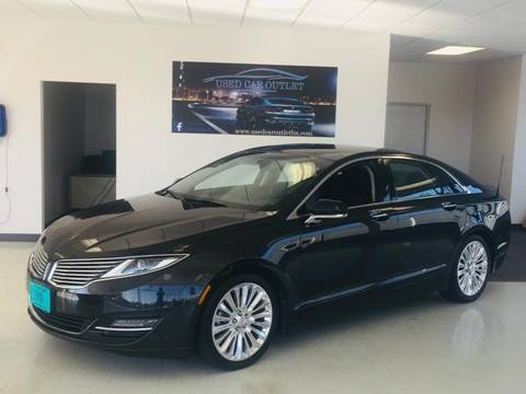 used lincoln cars il in for sedan effingham mkz sale htm