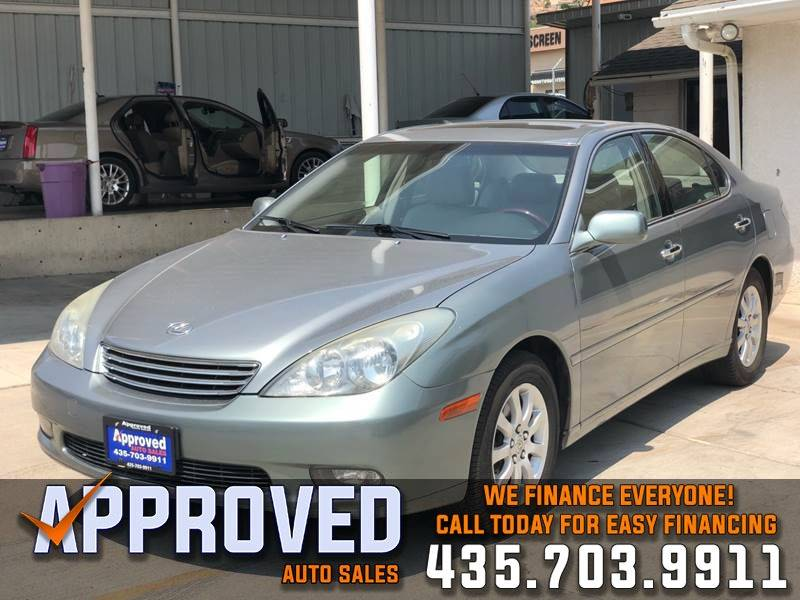 2003 Lexus ES 300 For Sale At Approved Auto Sales In St George UT