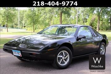 1985 Pontiac Fiero for sale in Virginia, MN