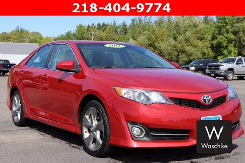 2012 Toyota Camry for sale in Virginia MN