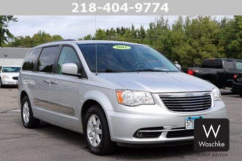 2012 Chrysler Town and Country for sale in Virginia, MN