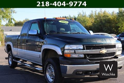 2002 Chevrolet Silverado 2500HD for sale in Virginia MN