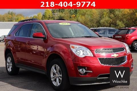 2013 Chevrolet Equinox for sale in Virginia, MN