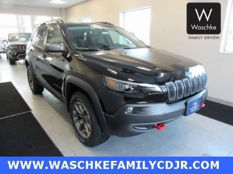 2020 Jeep Cherokee Trailhawk for sale at KEN WASCHKE AUTO PLAZA in Virginia MN