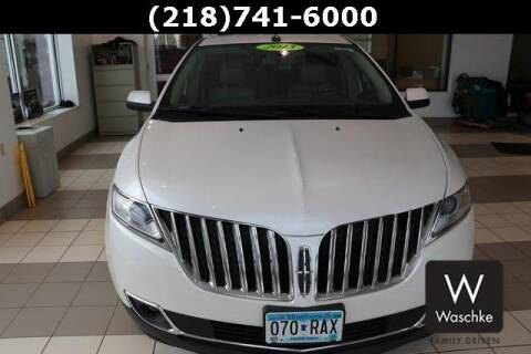 2013 Lincoln MKX for sale at KEN WASCHKE AUTO PLAZA in Virginia MN