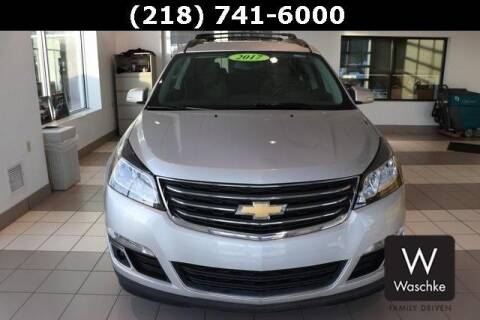2017 Chevrolet Traverse LT for sale at KEN WASCHKE AUTO PLAZA in Virginia MN