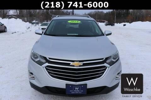 2019 Chevrolet Equinox Premier for sale at KEN WASCHKE AUTO PLAZA in Virginia MN