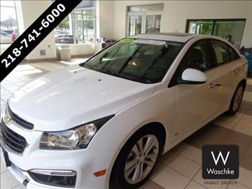 2015 Chevrolet Cruze for sale in Virginia, MN