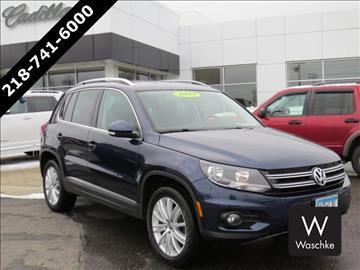 2013 Volkswagen Tiguan for sale in Virginia, MN