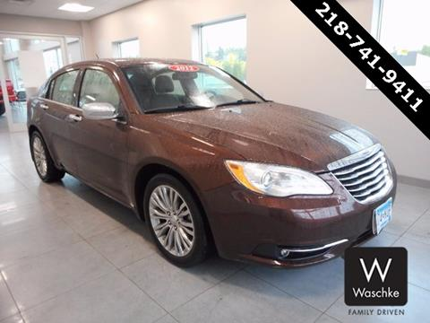 2012 Chrysler 200 for sale in Virginia MN