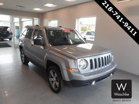 2016 Jeep Patriot for sale in Virginia MN