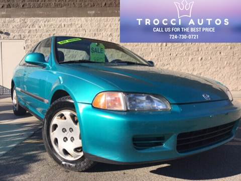 1994 Honda Civic for sale in West Pittsburg, PA