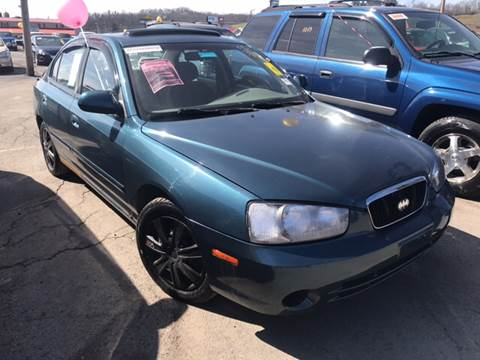 2003 Hyundai Elantra for sale at Trocci's Auto Sales in West Pittsburg PA