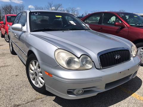2003 Hyundai Sonata for sale at Trocci's Auto Sales in West Pittsburg PA