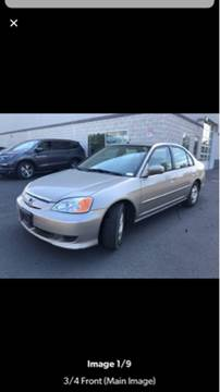 2003 Honda Civic for sale at Trocci's Auto Sales in West Pittsburg PA