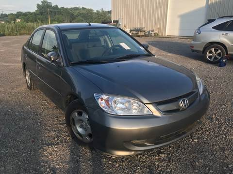 2004 Honda Civic for sale at Trocci's Auto Sales in West Pittsburg PA