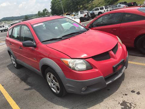 2003 Pontiac Vibe for sale at Trocci's Auto Sales in West Pittsburg PA