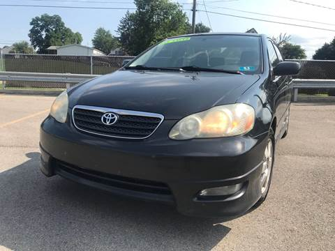 2008 Toyota Corolla for sale at Trocci's Auto Sales in West Pittsburg PA