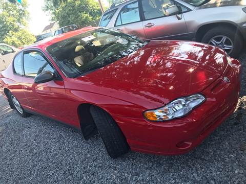 2005 Chevrolet Monte Carlo for sale at Trocci's Auto Sales in West Pittsburg PA