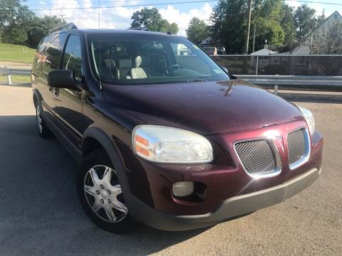2006 Pontiac Montana SV6 for sale in West Pittsburg, PA