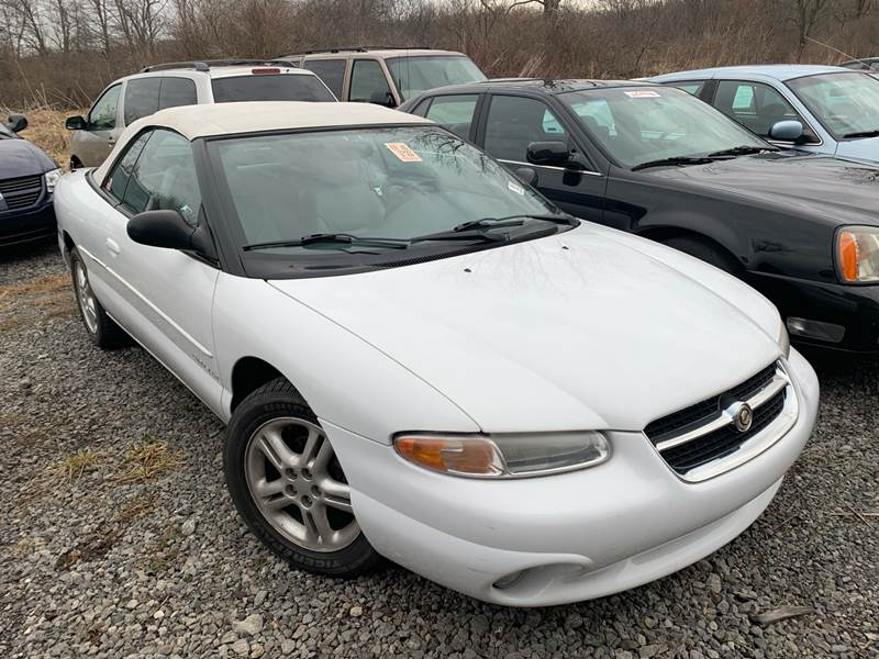 1997 chrysler sebring jxi 2dr convertible in west pittsburg pa trocci s auto sales 1997 chrysler sebring jxi 2dr