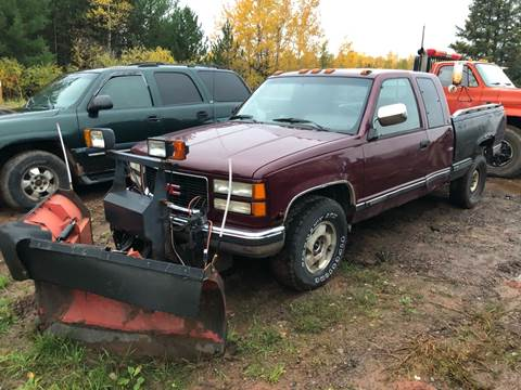 1994 GMC Sierra 2500 for sale in Bruce Crossing, MI
