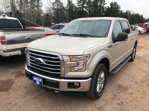 2017 Ford F-150 for sale at Al's Auto Inc. in Bruce Crossing MI
