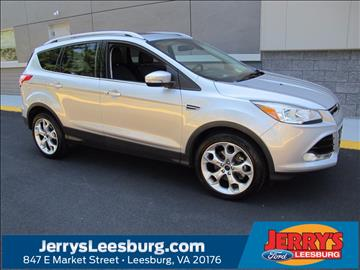 2016 Ford Escape for sale in Leesburg, VA