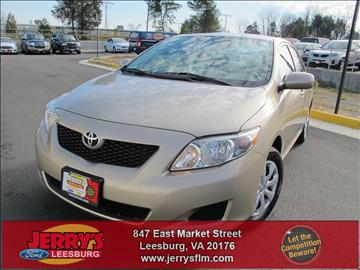 2010 Toyota Corolla for sale in Leesburg, VA