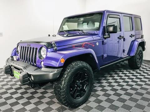 2016 Jeep Wrangler Unlimited for sale at Sunset Auto Wholesale in Tacoma WA
