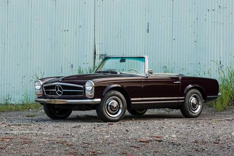 1967 Mercedes-Benz 230 SL for sale at LBI Limited in Philadelphia PA