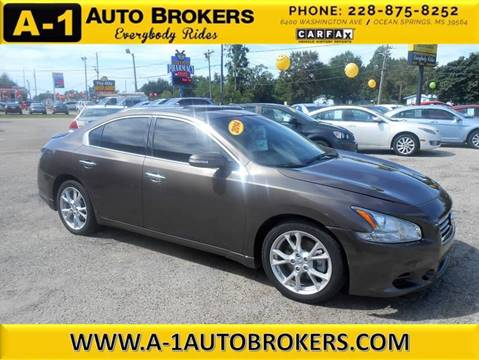 2014 Nissan Maxima for sale in Ocean Springs, MS