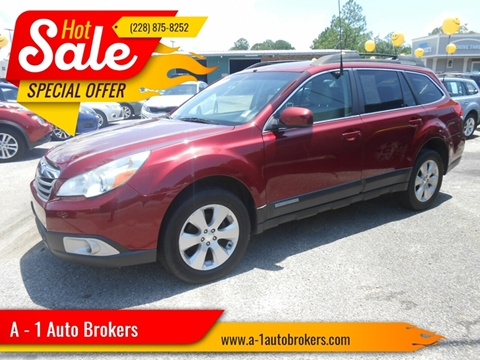 Outback Tupelo Ms >> 2011 Subaru Outback For Sale In Ocean Springs Ms