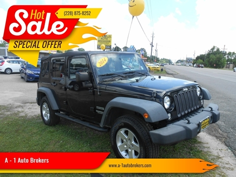 2014 Jeep Wrangler Unlimited for sale in Ocean Springs, MS