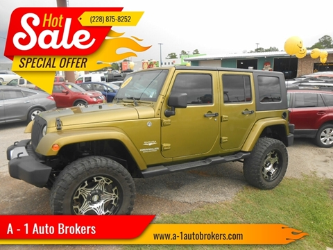 2008 Jeep Wrangler Unlimited for sale in Ocean Springs, MS