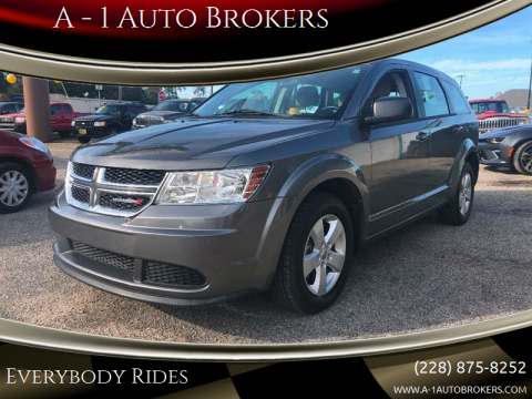 2013 Dodge Journey for sale at A - 1 Auto Brokers in Ocean Springs MS