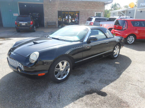 2002 Ford Thunderbird for sale at A - 1 Auto Brokers in Ocean Springs MS