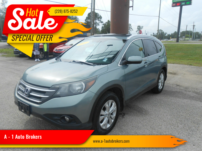 2012 Honda CR-V for sale at A - 1 Auto Brokers in Ocean Springs MS