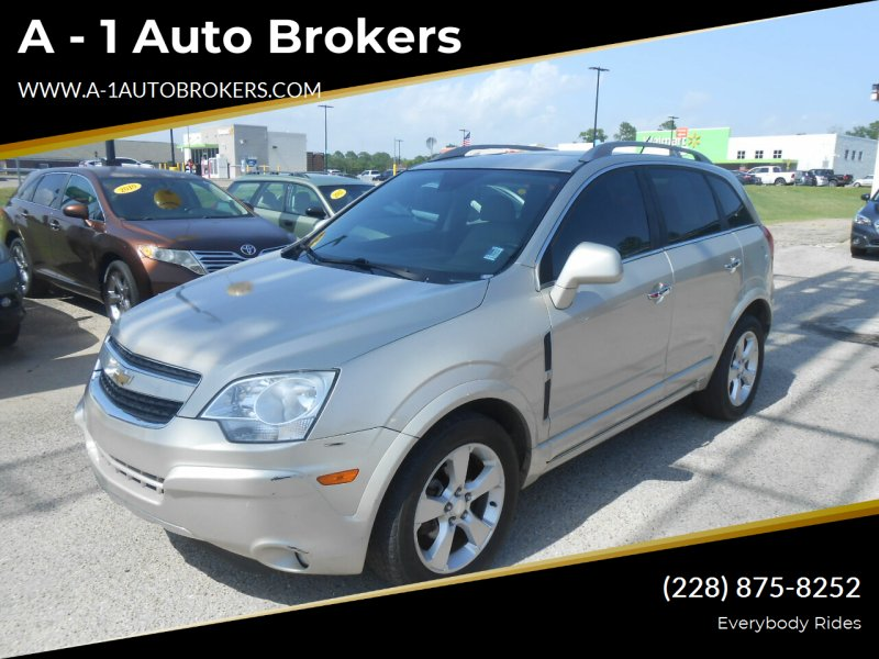 2013 Chevrolet Captiva Sport for sale at A - 1 Auto Brokers in Ocean Springs MS