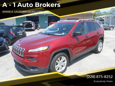 2015 Jeep Cherokee for sale at A - 1 Auto Brokers in Ocean Springs MS