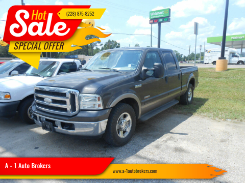 2005 Ford F-250 Super Duty for sale at A - 1 Auto Brokers in Ocean Springs MS