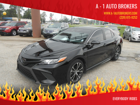 2019 Toyota Camry for sale at A - 1 Auto Brokers in Ocean Springs MS