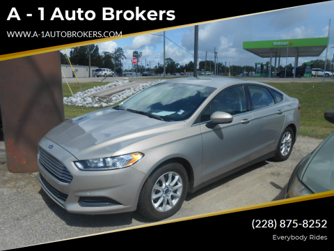 2016 Ford Fusion for sale at A - 1 Auto Brokers in Ocean Springs MS