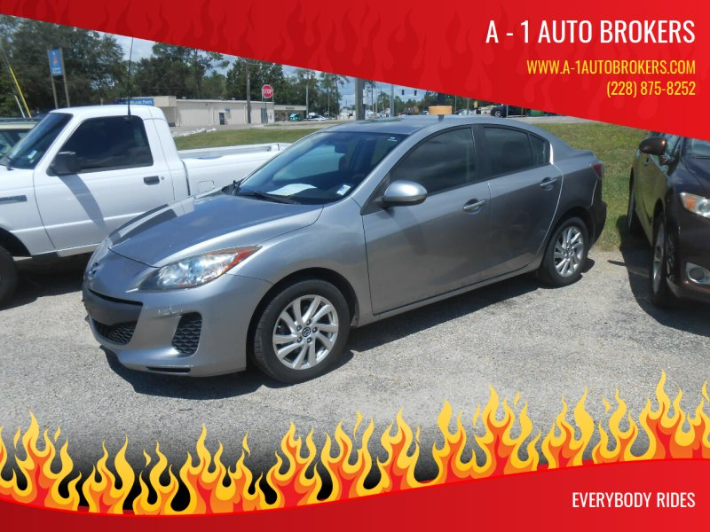 2013 Mazda MAZDA3 for sale at A - 1 Auto Brokers in Ocean Springs MS